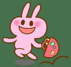 "Pleasant friends with ""Pyokotan"" sticker #57003"