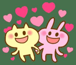 "Pleasant friends with ""Pyokotan"" sticker #57006"