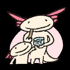 """We are Axolotl """"Upa-san"""""""