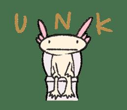"""We are Axolotl """"Upa-san"""" sticker #57221"""