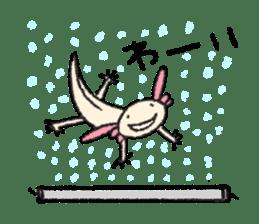 """We are Axolotl """"Upa-san"""" sticker #57227"""