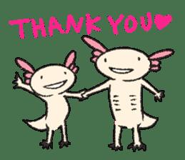"""We are Axolotl """"Upa-san"""" sticker #57234"""