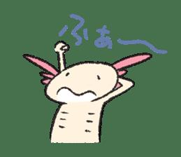 """We are Axolotl """"Upa-san"""" sticker #57235"""