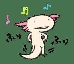 """We are Axolotl """"Upa-san"""" sticker #57240"""