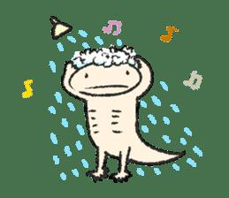 """We are Axolotl """"Upa-san"""" sticker #57242"""