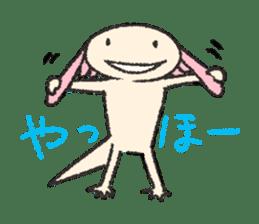 """We are Axolotl """"Upa-san"""" sticker #57243"""