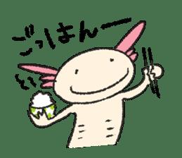 """We are Axolotl """"Upa-san"""" sticker #57250"""