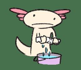"""We are Axolotl """"Upa-san"""" sticker #57252"""