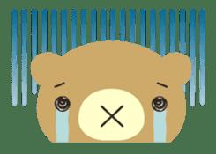 Bear in Trouble sticker #57664