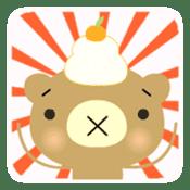 Bear in Trouble sticker #57682