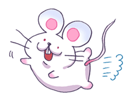 Haccal mouse1 sticker #57976