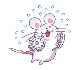 Haccal mouse1 sticker #57979
