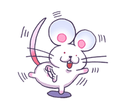 Haccal mouse1 sticker #57987