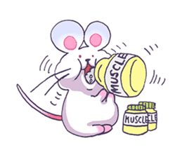 Haccal mouse1 sticker #57990