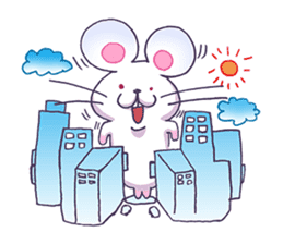 Haccal mouse1 sticker #57997
