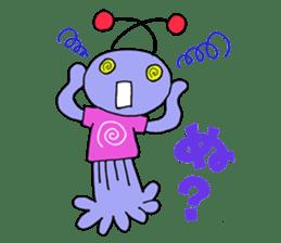 Dinosaur girl Gauko sticker #58584