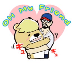 PureBear OH・My・Friend sticker #58755