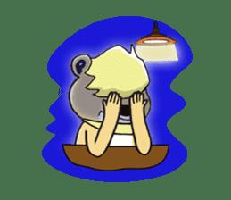 PureBear OH・My・Friend sticker #58766