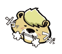 PureBear OH・My・Friend sticker #58771