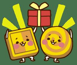 Umaimono Friends sticker #59015