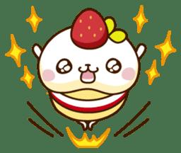Umaimono Friends sticker #59016