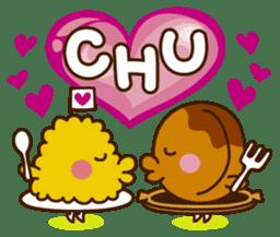 Umaimono Friends sticker #59017