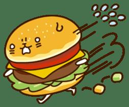 Umaimono Friends sticker #59026