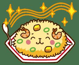 Umaimono Friends sticker #59027