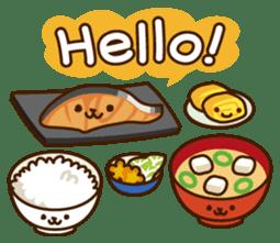 Umaimono Friends sticker #59029