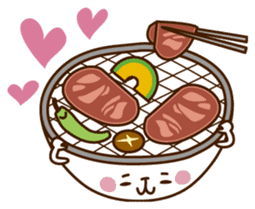 Umaimono Friends sticker #59043