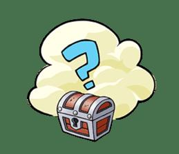Teku Teku Hero sticker #59140