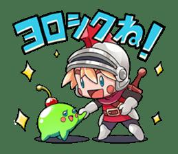 Teku Teku Hero sticker #59154