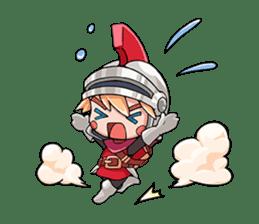 Teku Teku Hero sticker #59156