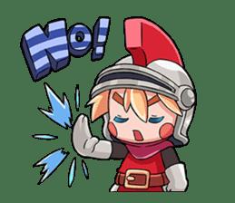 Teku Teku Hero sticker #59168