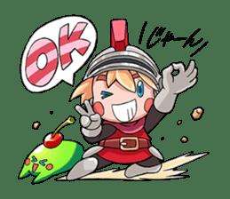 Teku Teku Hero sticker #59169