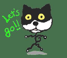 KEN the CAT, oRiginal sticker #59174