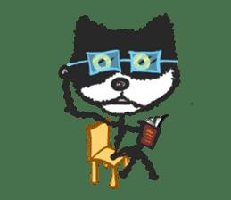 KEN the CAT, oRiginal sticker #59177