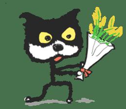 KEN the CAT, oRiginal sticker #59179
