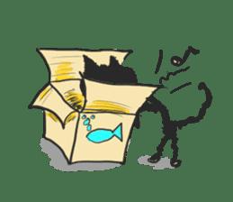 KEN the CAT, oRiginal sticker #59183