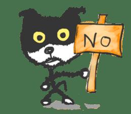 KEN the CAT, oRiginal sticker #59184