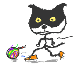 KEN the CAT, oRiginal sticker #59188