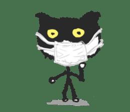 KEN the CAT, oRiginal sticker #59193