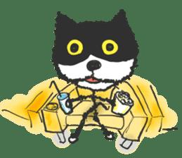 KEN the CAT, oRiginal sticker #59198