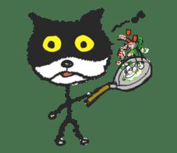 KEN the CAT, oRiginal sticker #59201