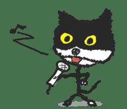 KEN the CAT, oRiginal sticker #59203