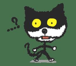 KEN the CAT, oRiginal sticker #59205