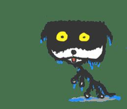 KEN the CAT, oRiginal sticker #59206