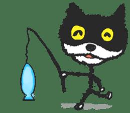 KEN the CAT, oRiginal sticker #59209