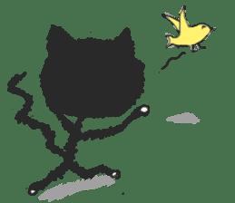 KEN the CAT, oRiginal sticker #59211