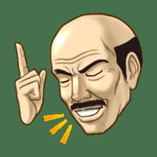 Exciting! Mr. bald head sticker #59418
